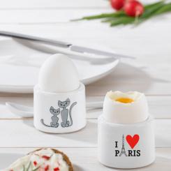 i-CUP I LOVE PARIS Eierbecher mit Druck