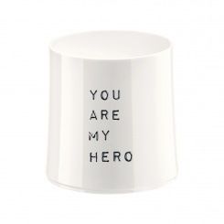 CHEERS NO. 2 YOU ARE MY HERO Superglas 250ml with print
