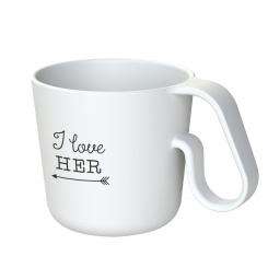 MAXX I LOVE HER Mug with print