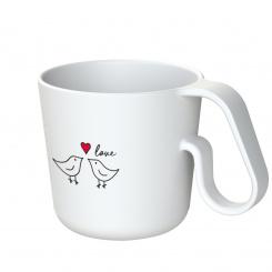 MAXX BIRD LOVE Mug with print
