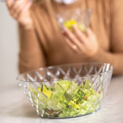 CRYSTAL L Salad Serving Bowl 3,5l