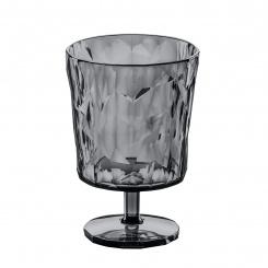 CLUB S Glass 250ml transparent grey