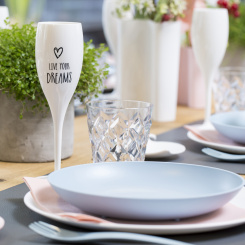 CHEERS NO. 1 LIVE YOUR DREAMS Superglas 100ml with print