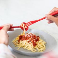 NAPOLI Organic Spaghetti Fork & Spoon Set