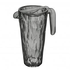 CLUB Superglas Kanne 1,5l transparent grey
