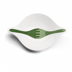 LEAF L+ Salad bowl with servers 3l