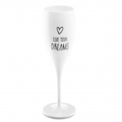 CHEERS NO. 1 LIVE YOUR DREAMS Superglas 100ml mit Druck