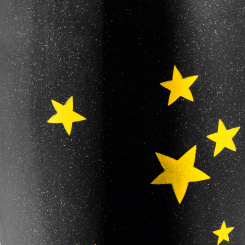 CHEERS NO. 1 STARS Superglas 100ml with print