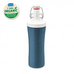 PLOPP TO GO Water Bottle 425ml organic deep blue