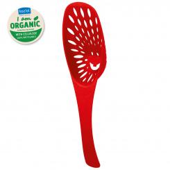 MIRKO Organic Strainer Spoon organic red