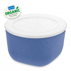 CONNECT BOX 1 Box mit Deckel 1l organic blue-organic white