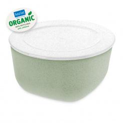 CONNECT BOX 2 ORGANIC Box mit Deckel 2l organic green-organic white