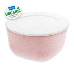 CONNECT BOX 2 Box mit Deckel 2l organic pink-organic white