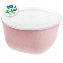 CONNECT BOX 4 Box mit Deckel 4l organic pink-organic white