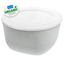 CONNECT BOX 4 Box mit Deckel 4l organic grey-organic white