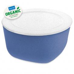 CONNECT BOX 4 Box mit Deckel 4l organic blue-organic white