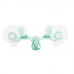 SVEN Wandhaken transparent jade