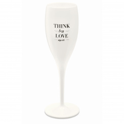 CHEERS NO. 1 THINK LESS LOVE MORE Superglas 100ml mit Druck