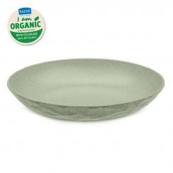 CLUB PLATE M ORGANIC Tiefer Teller organic green