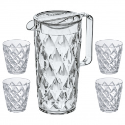 CRYSTAL Pitcher 1,6l + 4 Tumbler