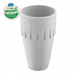 CONNECT COFFEE Becher Latte 400ml organic grey