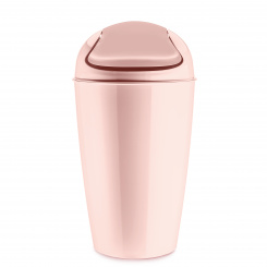 DEL XL Swing-Top Wastebasket 30l queen pink