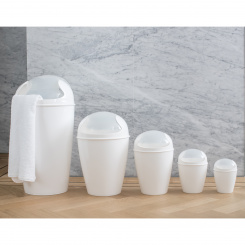 DEL XS Swing-Top Wastebasket 2l