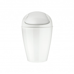 DEL S Swing-Top Wastebasket 5l