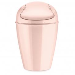 DEL S Schwingdeckeleimer 5l queen pink