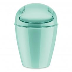 DEL XS Swing-Top Wastebasket 2l spa turquoise
