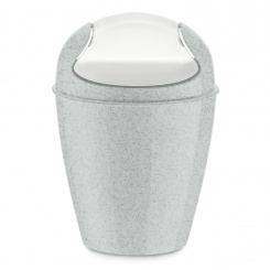 DEL XS ORGANIC Swing-Top Wastebasket 2l
