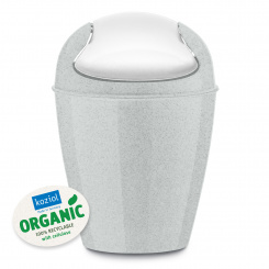 DEL XXS ORGANIC Swing-Top Wastebasket 0,9l
