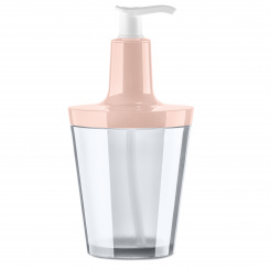 FLOW Seifenspender 250ml queen pink-crystal clear