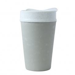 ISO TO GO Double walled Cup with lid 400ml concrete grey