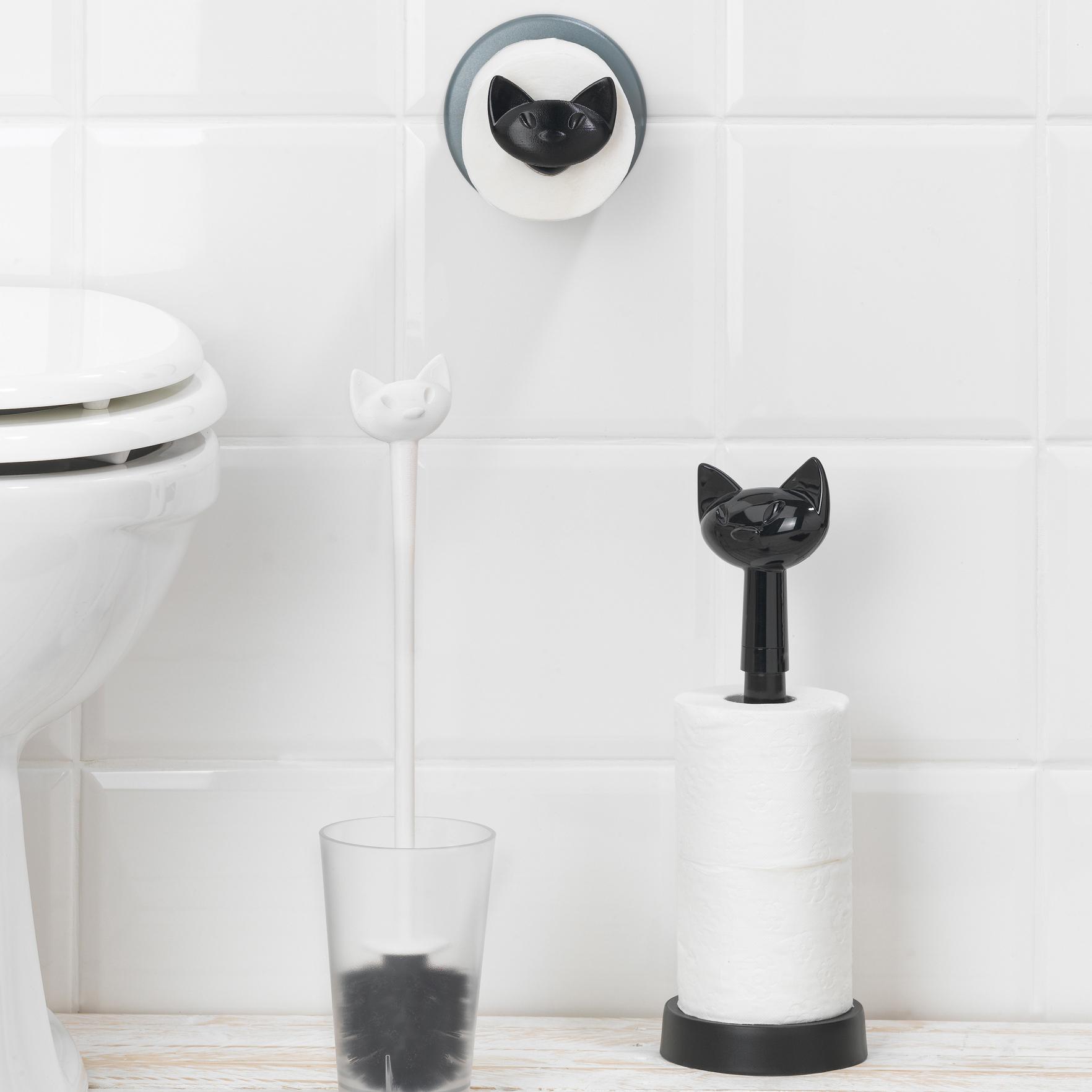 Ceramic tile toothbrush holder
