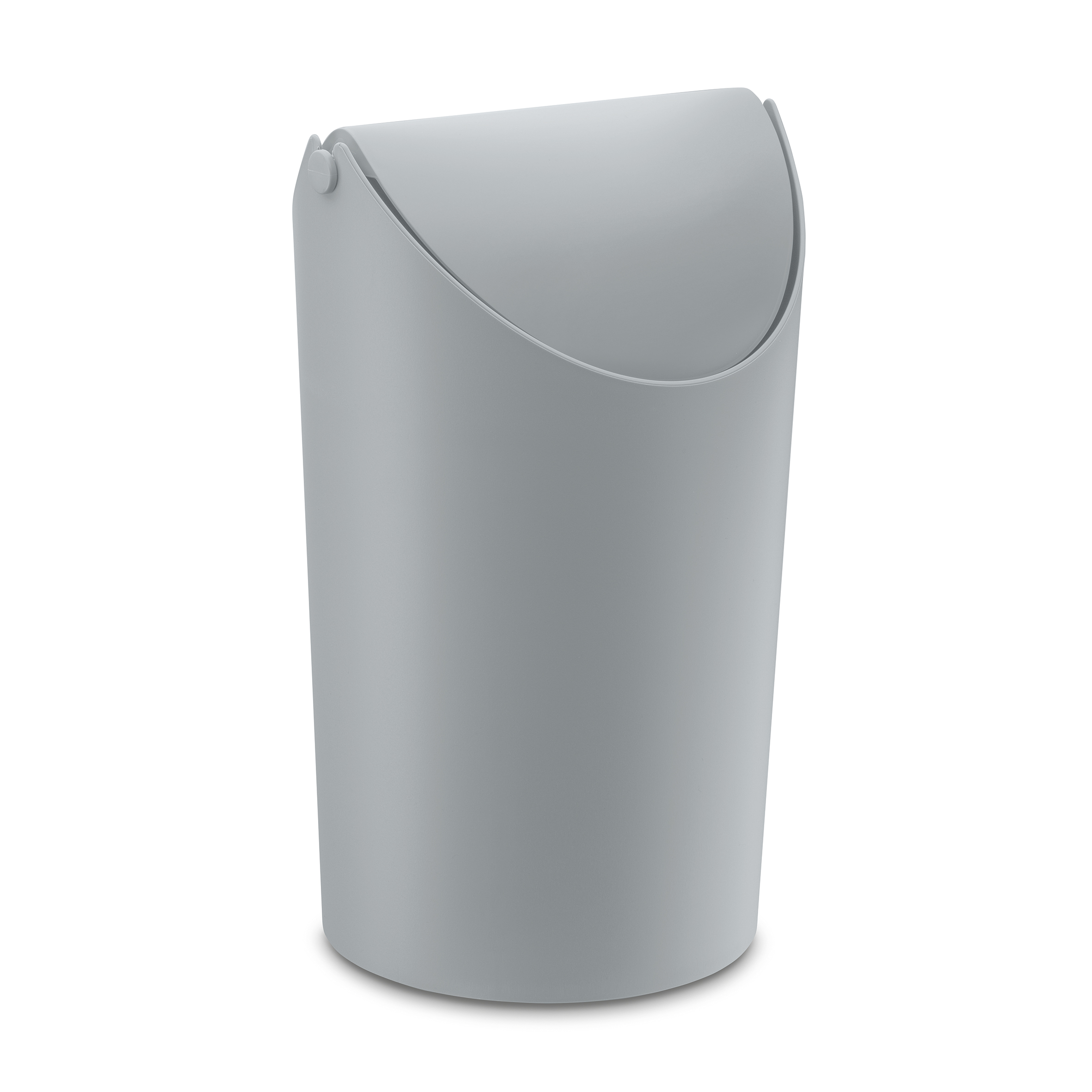Koziol ideas for friends gmbh jim wastebasket 3 25l cool grey - Cool wastebaskets ...