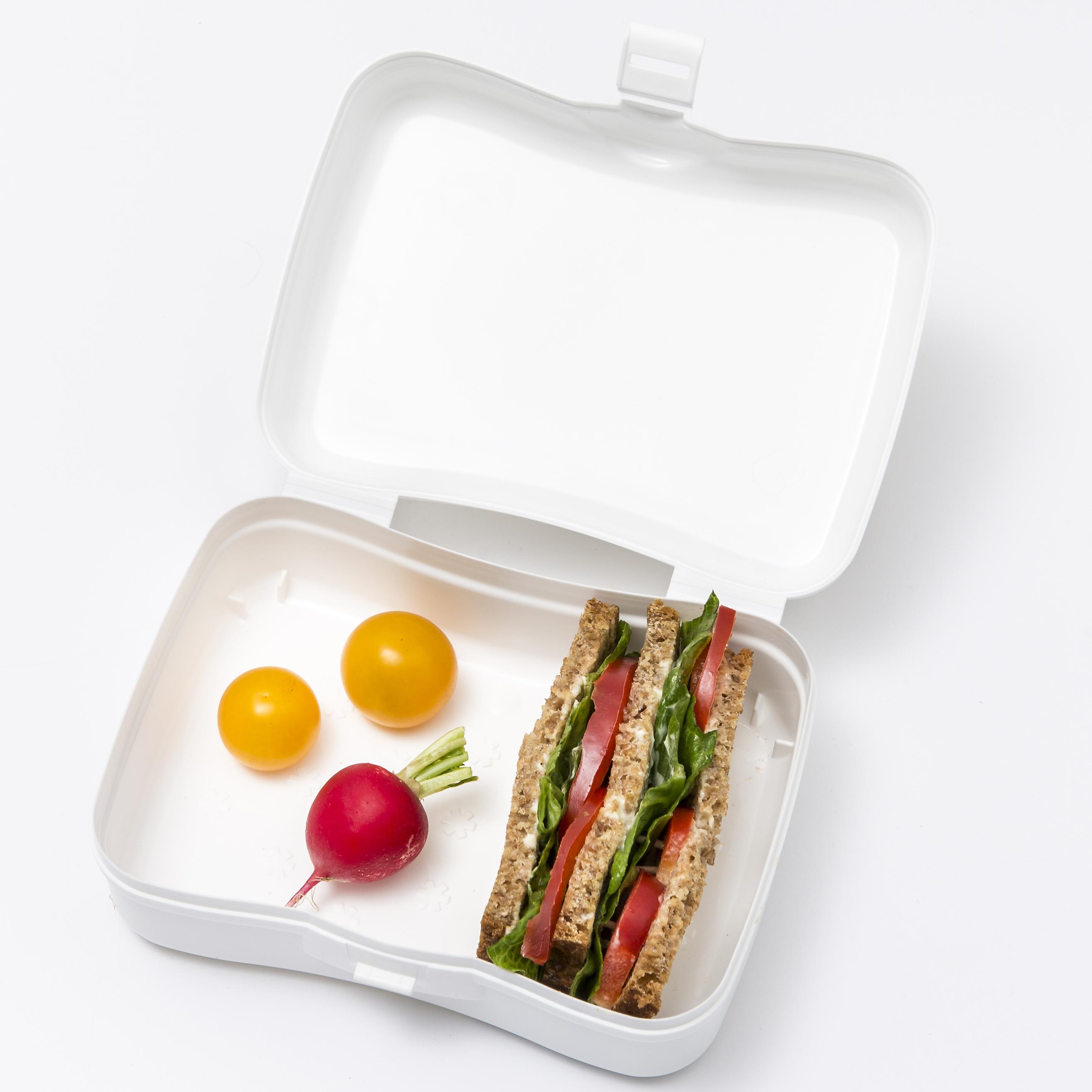 koziol »ideas for friends GmbH | BASIC Lunch Box mustard green
