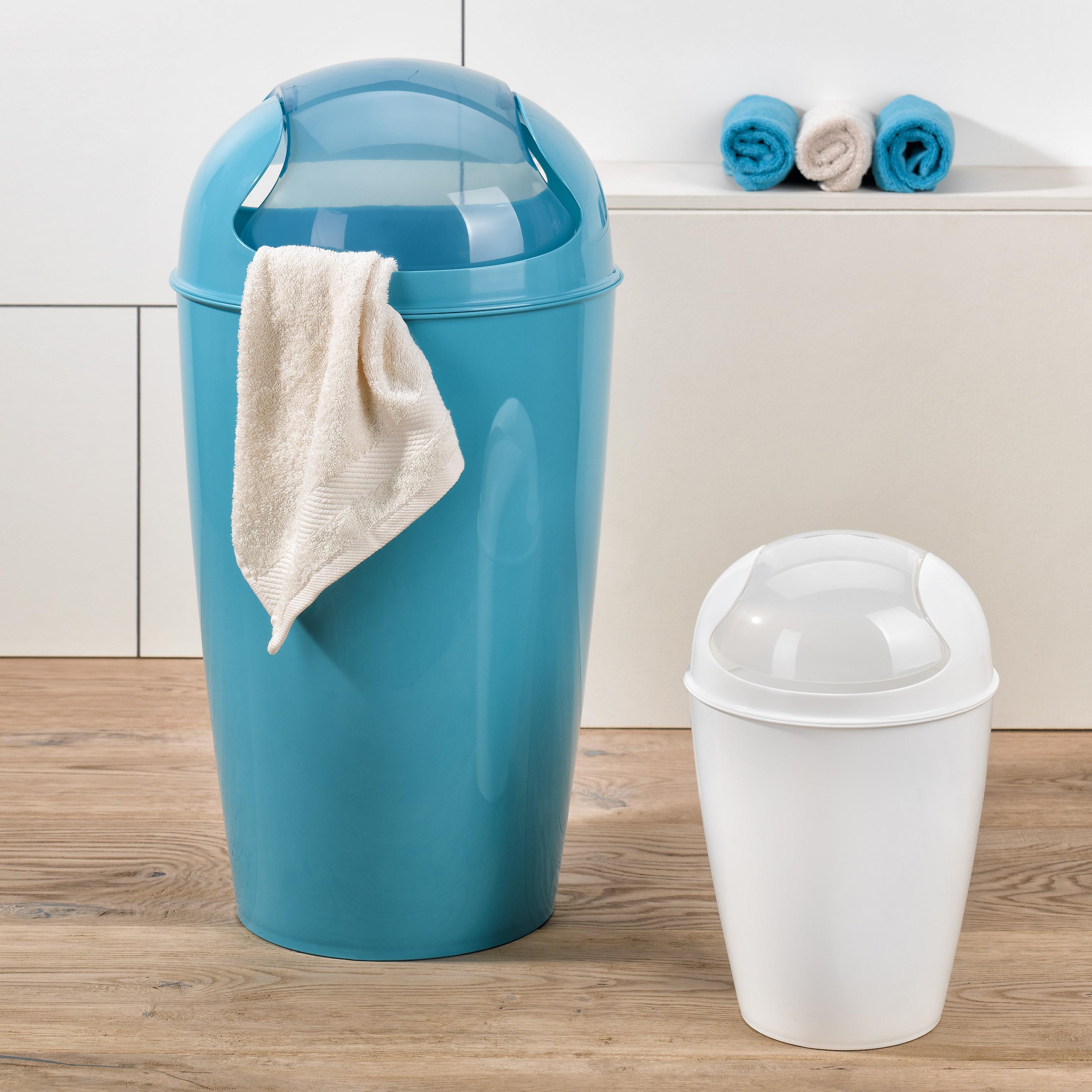 22e02a96b7a78a koziol »ideas for friends GmbH | DEL M Swing-Top Wastebasket 12l ...