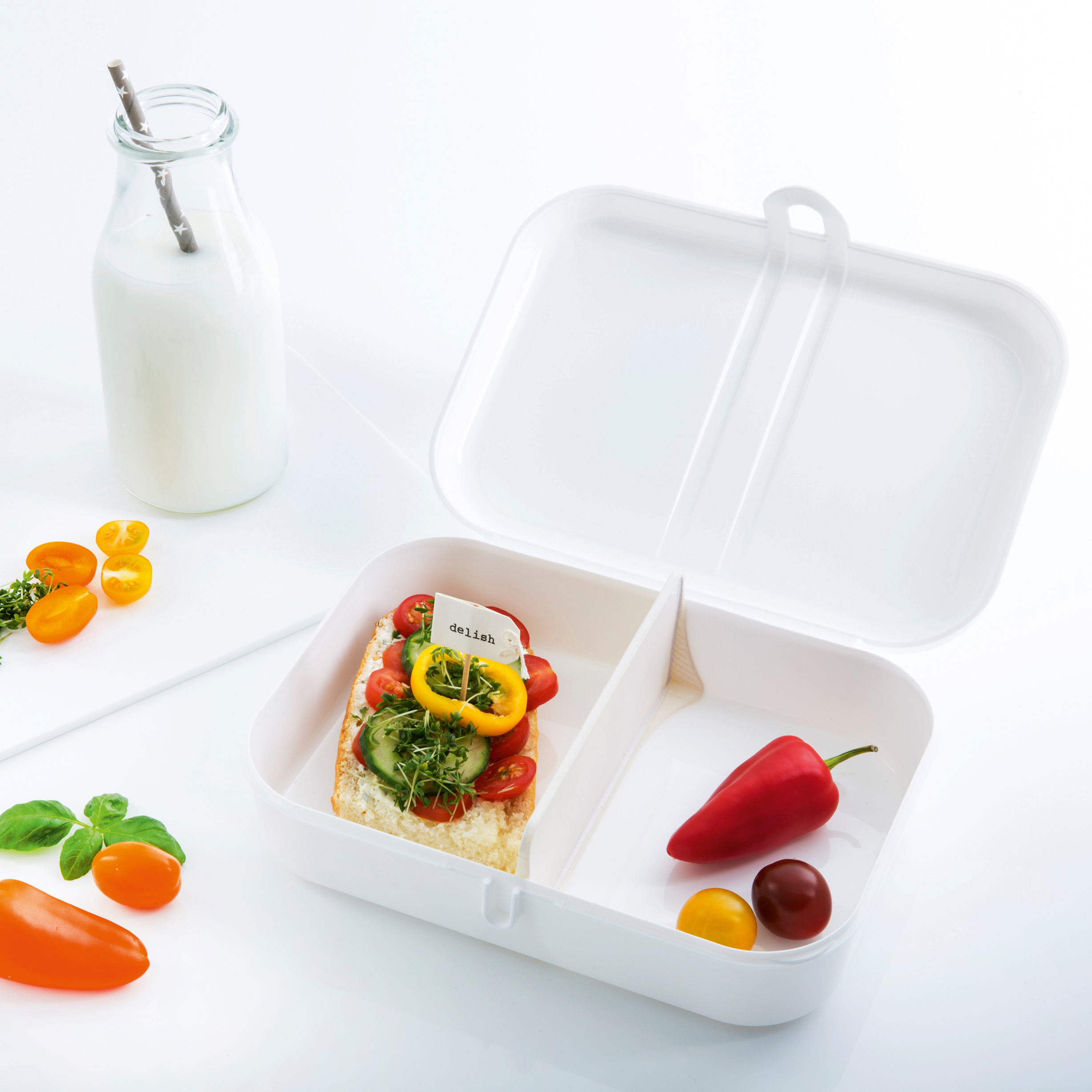 koziol »ideas for friends GmbH | PASCAL L Lunch Box with Separator