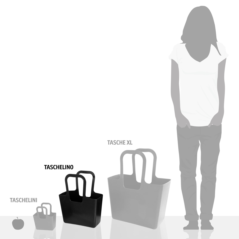 Koziol Ideas For Friends Gmbh Taschelino Bag Shopper Tote Black Mc